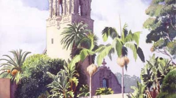 3018428bell tower in balboa park w