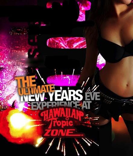 New Years Eve At Hawaiian Tropic Zone Las Vegas Drinks Food And Dancing Reviews Ratings