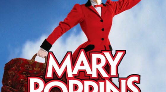 Mary poppins red dress1
