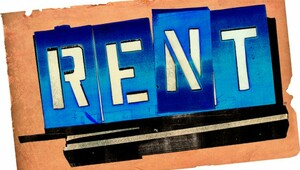 Rent color logo
