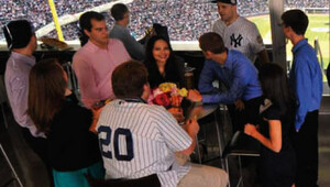 Yankees party suite