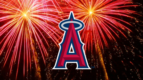 Angels fireworks