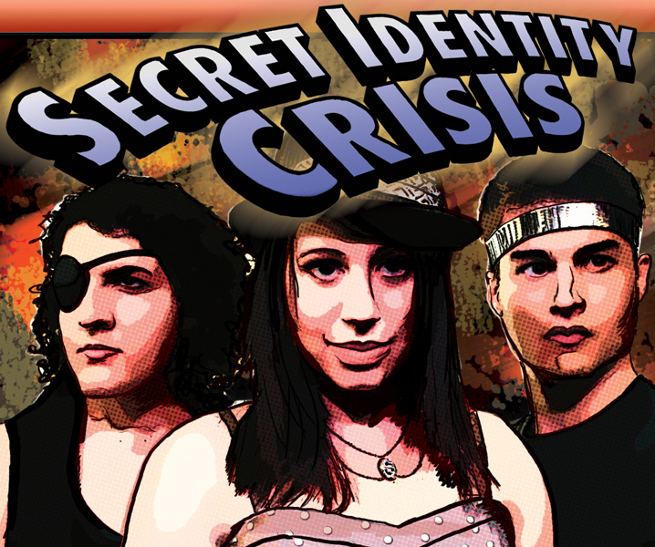 Comic Book-Themed Improv in Un-Scripted's