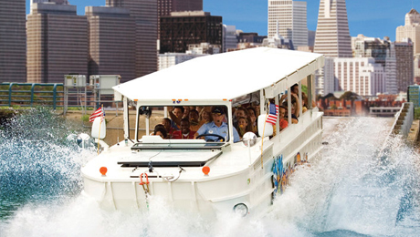 Ride the Ducks Amphibious Sightseeing Tour of San Francisco $17.50 ($35 value)