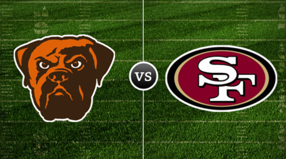 Nfl browns 49ers
