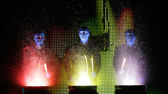 Blue man group 111412