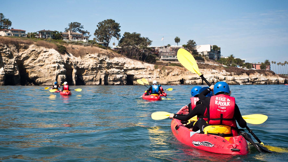Guided Kayaking Tours of La Jolla's Seven Caves $36.00 - $37.00 ($72 value)