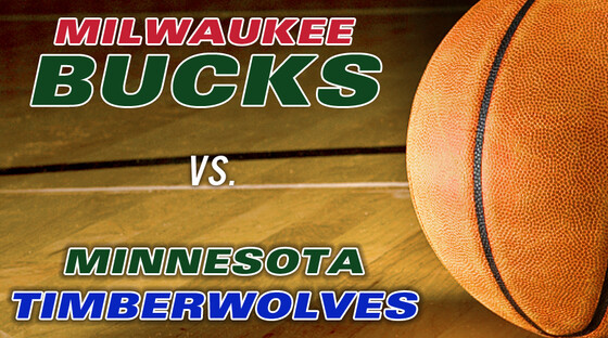 Nba bucks timberwolves