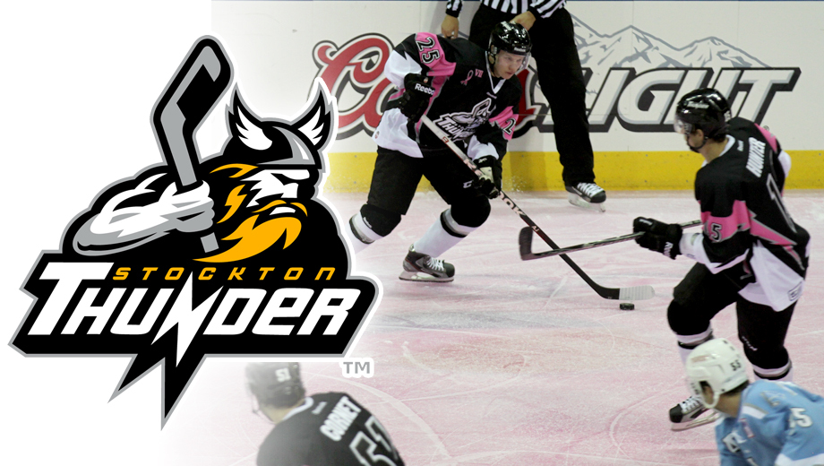 Stockton Thunder Hockey: Lightning-Fast Action $5.00 - $10.00 ($15 value)