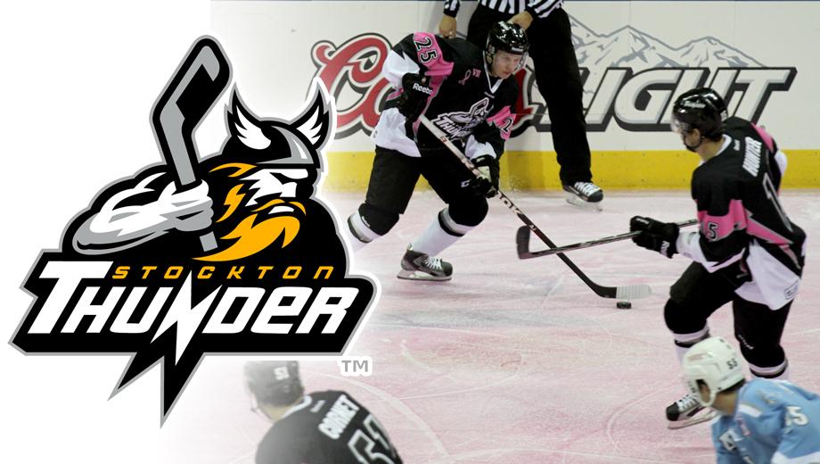 Stockton Thunder Hockey: Lightning-Fast Action $5.00 - $10.00 ($15 value)