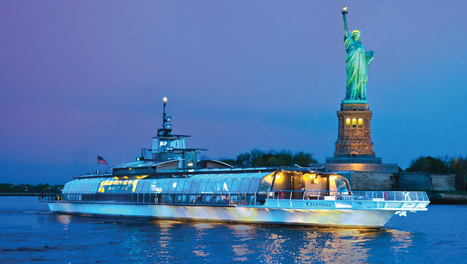Bateaux New York Dinner Cruise: Glorious Views, Fine Dining $98.00 - $106.43 ($176.76 value)