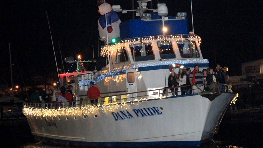 Dana Point Christmas Boat Parade of Lights -- A Unique Holiday Experience $14.50 ($29 value)