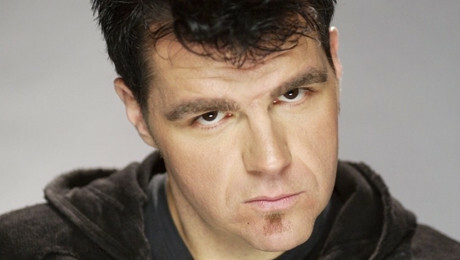 Comedian Ian Bagg (