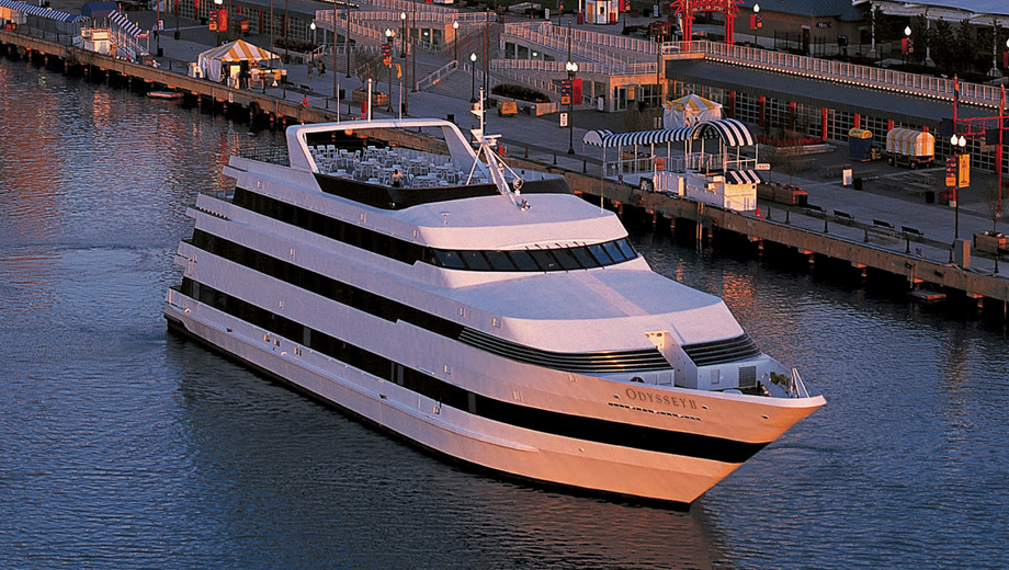 Award-Winning Luxury Dining Cruises Aboard the Odyssey $79.88 - $101.92 ($133.14 value)
