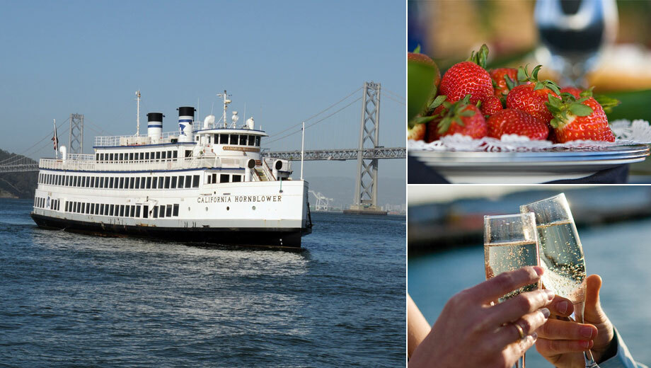 Hornblower's Champagne Brunch Cruise of San Francisco Bay $54.81 ($91.54 value)