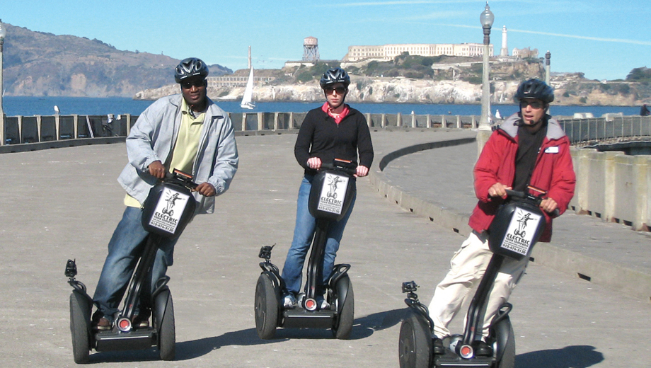 The Original San Francisco Fisherman's Wharf & Waterfront Guided Segway Tour $35.00 ($70 value)