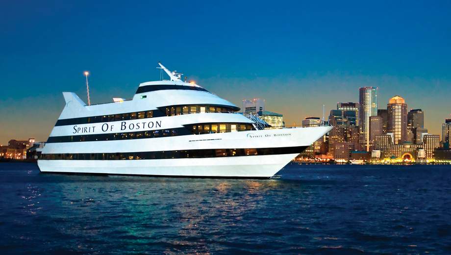Dine & Dance Aboard One of the Spirit of Boston's Dinner Cruises $67.52 - $74.59 ($112.53 value)