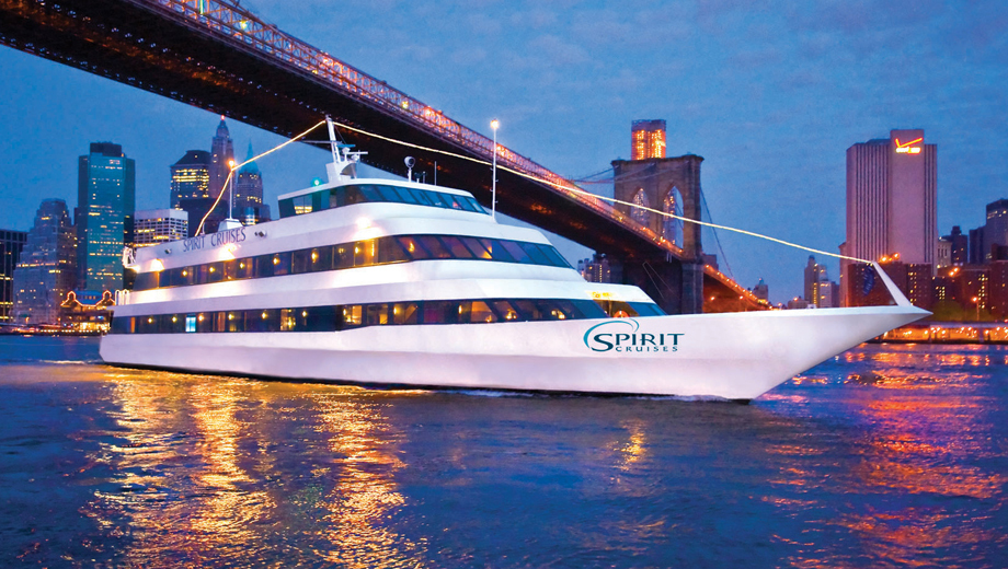 Weehawken: Spirit of New Jersey's New York Harbor Cruise: Dine & Dance $71.74 ($119.57 value)