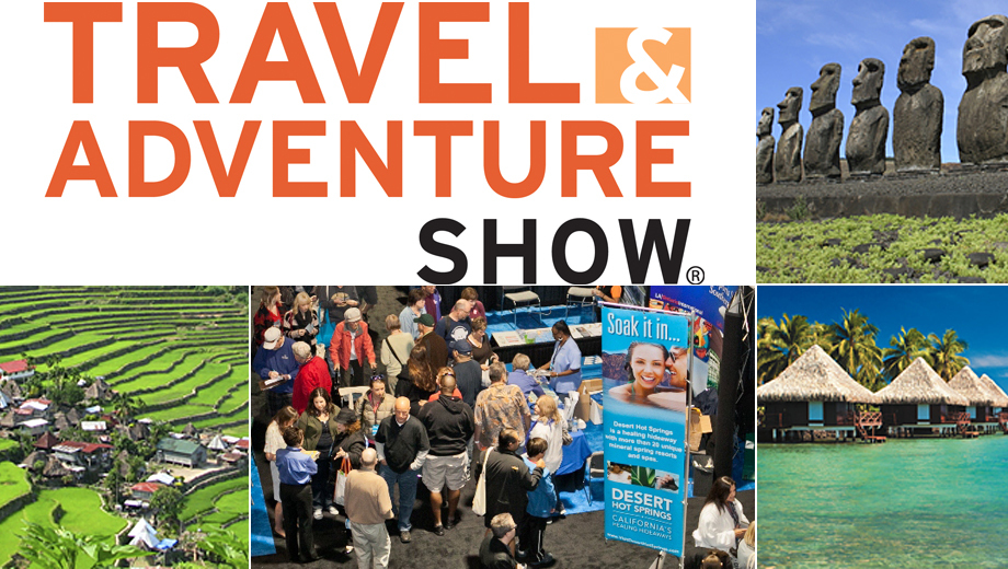 Travel & Adventure Show: Pauline Frommer, Patricia Schultz & More $5.50 ($11 value)