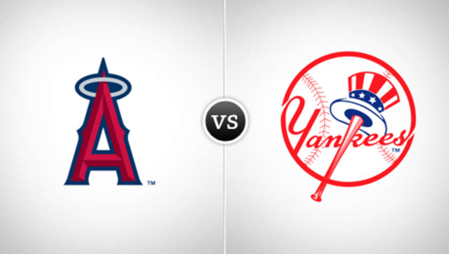 Mlb angels yankees