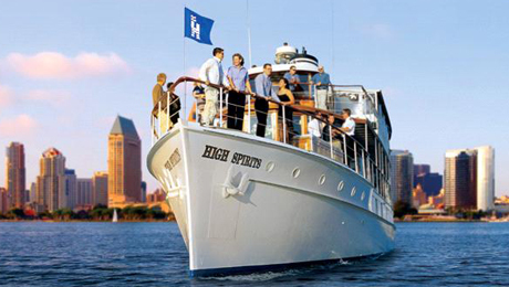 Sights & Sips Sunset Cruise: Happy Hour on San Diego Bay $25.00 ($41 value)