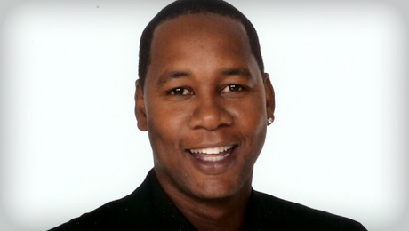 Comedian Mark Curry (
