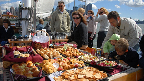 Champagne Brunch Aboard the Historic Schooner Shearwater $66.50 ($95 value)