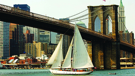 Sail NY Harbor Aboard the Historic Schooner Shearwater $22.50 ($45 value)
