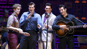 The national tour of million dollar quartet 041812
