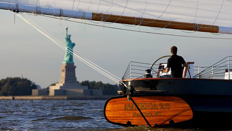 Hit the Water For Romantic Sunset Sail on Luxury Cruise $36.00 ($72 value)
