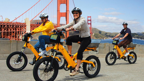 Electric Bike Tour Over the Golden Gate Bridge $42.50 ($85 value)