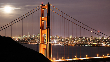 Twilight Tour of San Francisco: See the Sights and Lights $21.50 ($43 value)