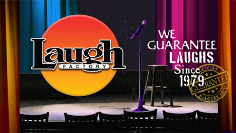 The Laugh Factory -- All-Star Comedy at the Tropicana $21.95 - $30.72 ($31.9 value)
