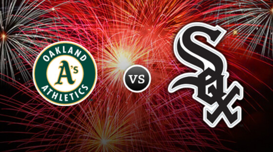 Mlb as whitesox fireworks
