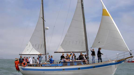 Sailing Tour of San Francisco Bay Aboard a Classic-Style Yacht $27.00 ($45 value)