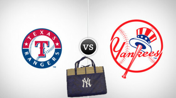 Rangers yankees beachmat