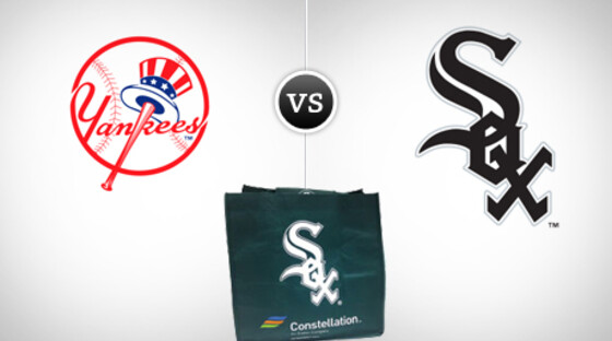 Mlb2011 yankees whitesox promobag