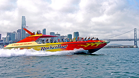 RocketBoat: The Ultimate High-Speed Adventure on San Francisco Bay $12.50 ($25 value)