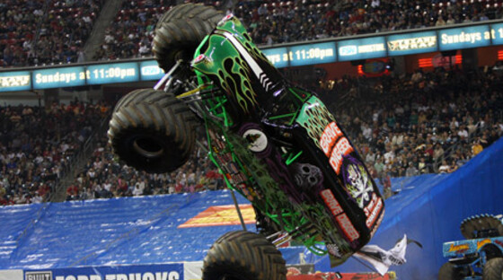 Digger one wheele monsterjam 090512