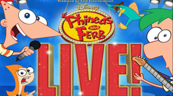 Phineas and ferb live 071612