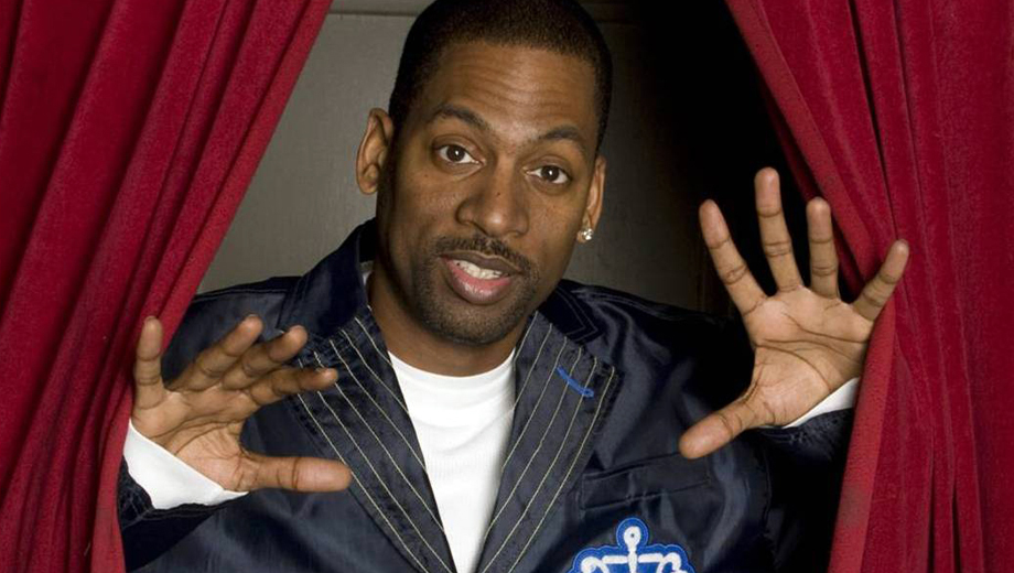 Comedian Tony Rock from TV's