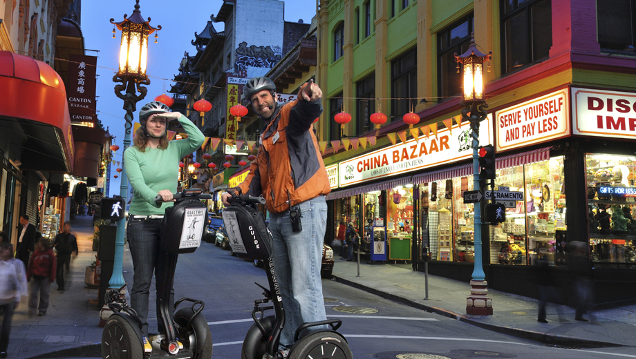 Glide Through San Francisco on a Segway Night Tour $35.00 ($70 value)