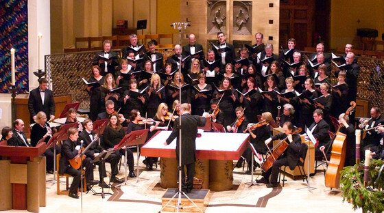Exultate chamber choir and orchestra