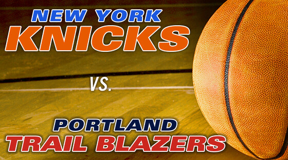 Nba knicks trailblazers 013113