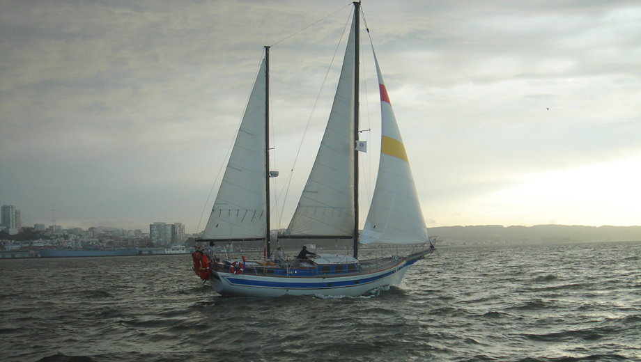 2-Hour Sunset Sail Aboard a Traditional Sailing Yacht $33.00 ($55 value)