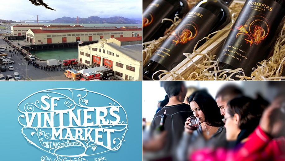 San Francisco Vintners Market: Taste and Buy Fabulous Wines $32.00 - $78.00 ($80 value)