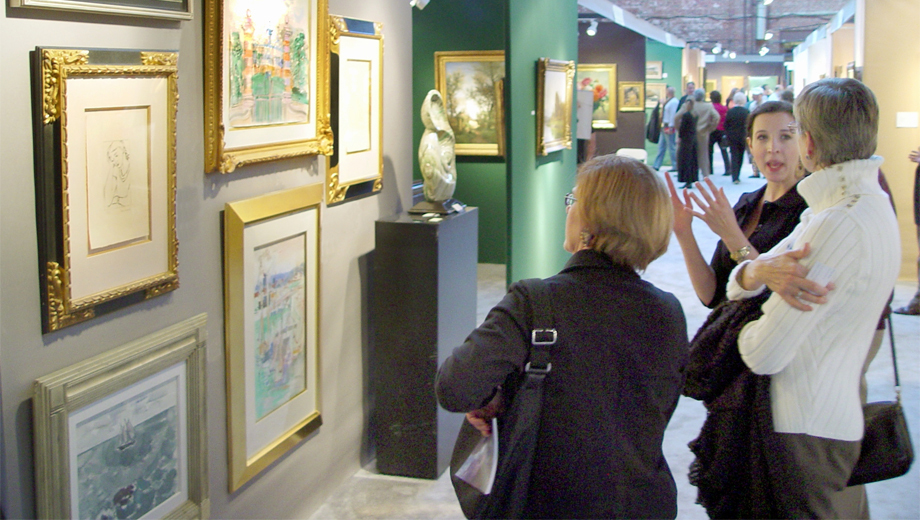 Boston International Fine Art Show: 40 Galleries Plus Lectures COMP - $7.50 ($15 value)