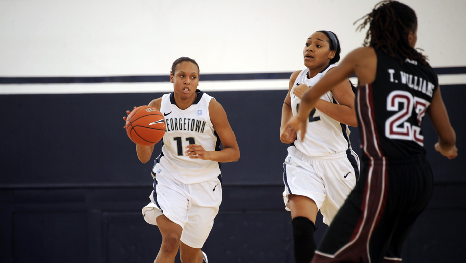 Georgetown Women's Basketball: Watch the Hot-Shooting Hoyas COMP ($5 value)