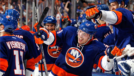 New York Islanders in NHL Action $27.00 - $45.00 ($59 value)