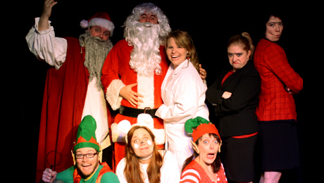 Silly, Holiday-Themed Improv Show for Kids $6.00 ($12 value)